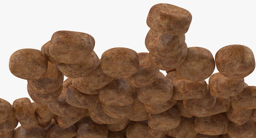 Dry Dog Food royalty-free 3d model - Preview no. 8