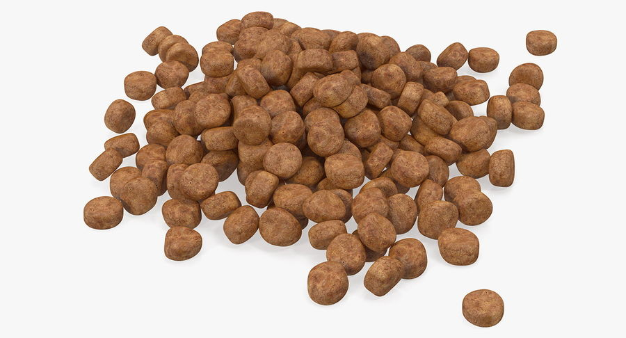 Dry Dog Food royalty-free 3d model - Preview no. 2