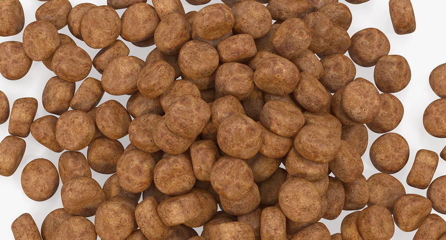 Dry Dog Food royalty-free 3d model - Preview no. 6