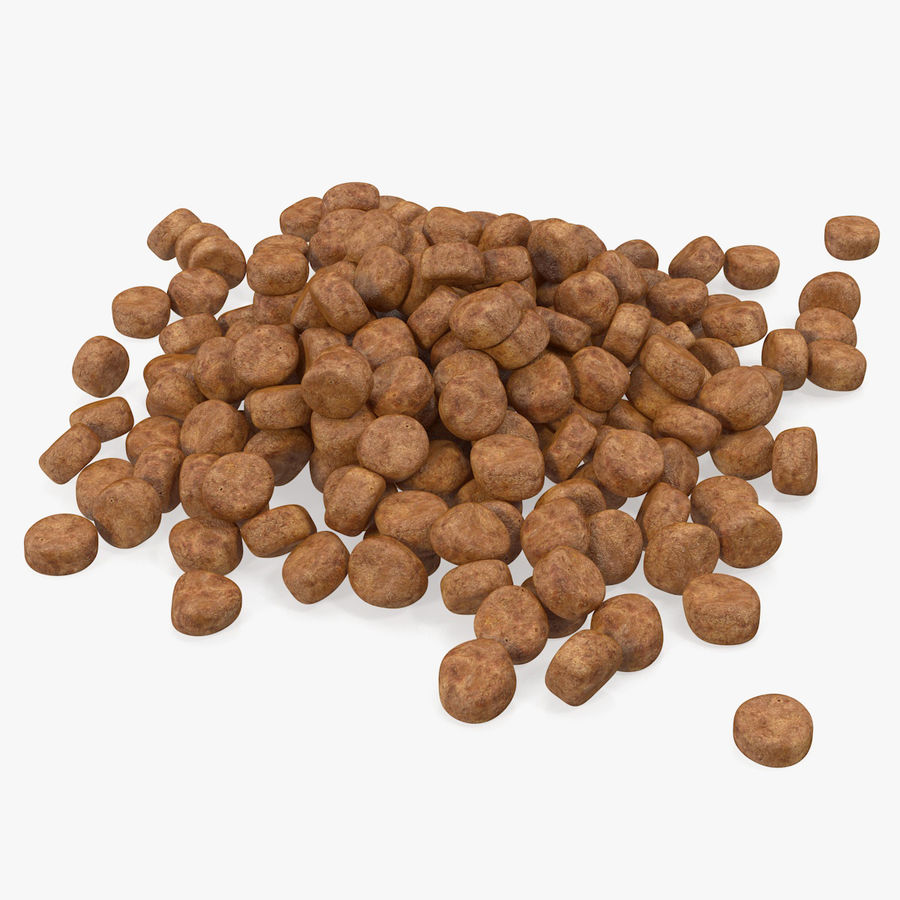 Dry Dog Food royalty-free 3d model - Preview no. 1