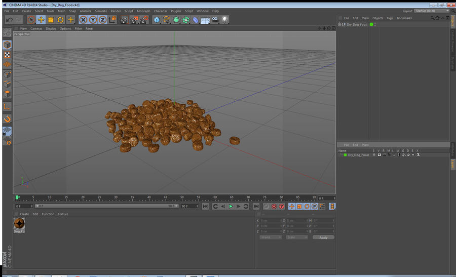 Dry Dog Food royalty-free 3d model - Preview no. 15