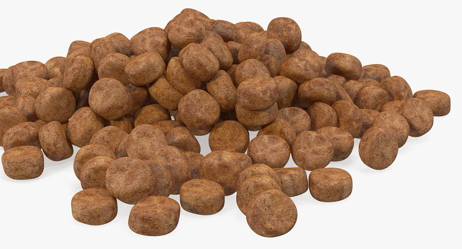 Dry Dog Food royalty-free 3d model - Preview no. 5