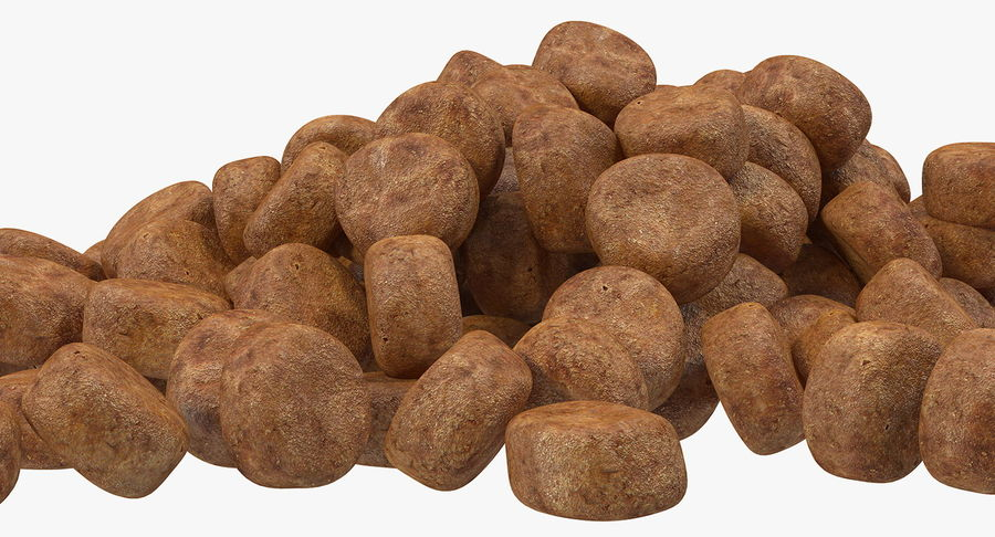 Dry Dog Food royalty-free 3d model - Preview no. 9