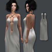 Long Dress 3d model