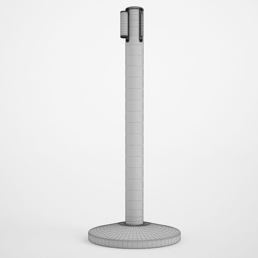 空港の支柱02 royalty-free 3d model - Preview no. 3