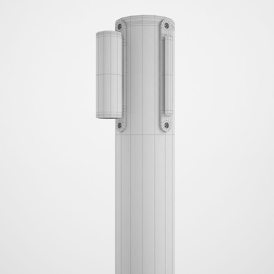 空港の支柱02 royalty-free 3d model - Preview no. 12