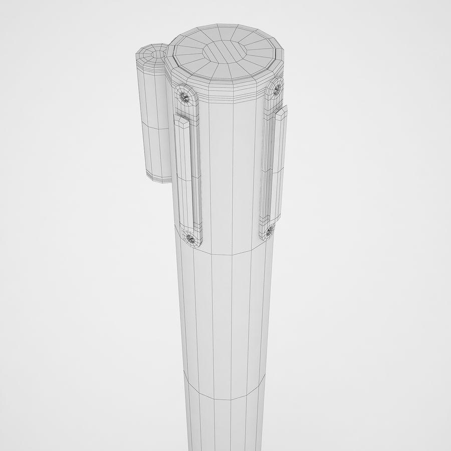 空港の支柱02 royalty-free 3d model - Preview no. 16