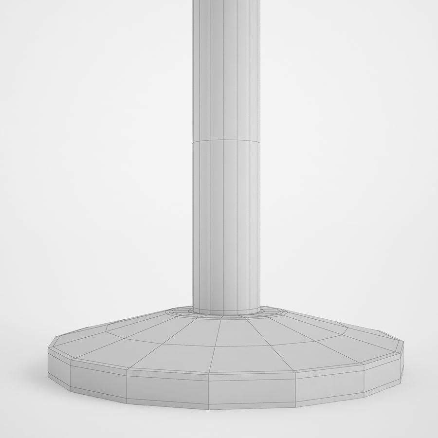 空港の支柱02 royalty-free 3d model - Preview no. 14
