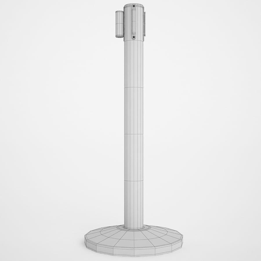 空港の支柱02 royalty-free 3d model - Preview no. 6