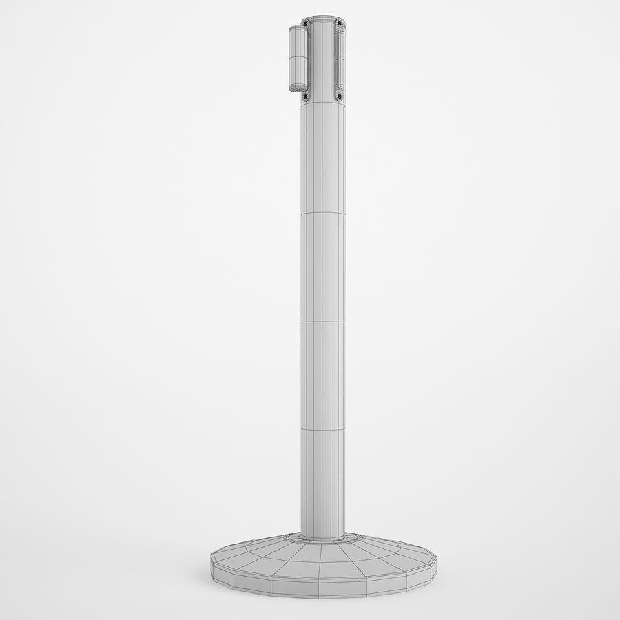 空港の支柱02 royalty-free 3d model - Preview no. 4