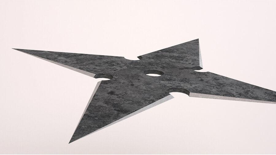 Shuriken Throwing Star 3d Model 19 Max Obj Fbx 3ds Free3d