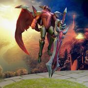 League Of Legends Aatrox Recall 3d model