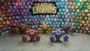 league of legends blitzcrank steel chroma pack 3d model