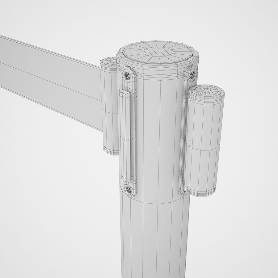 空港の支柱07 royalty-free 3d model - Preview no. 18