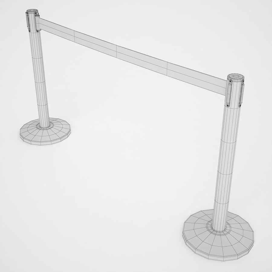 空港の支柱07 royalty-free 3d model - Preview no. 10