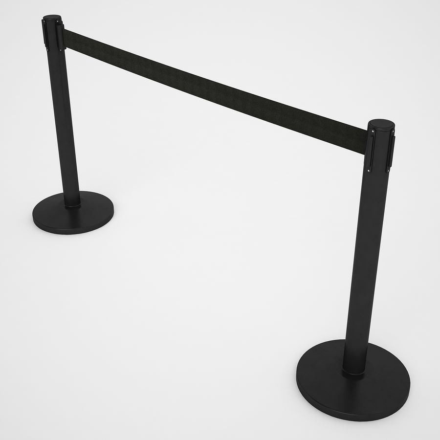 空港の支柱07 royalty-free 3d model - Preview no. 9