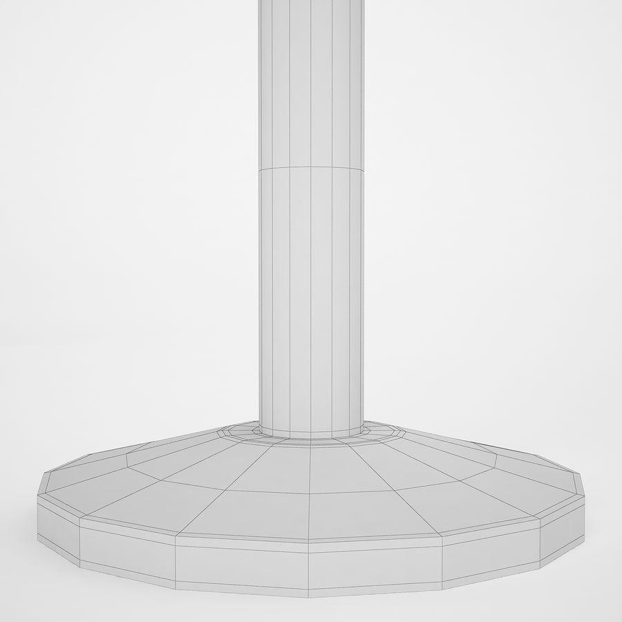 空港の支柱07 royalty-free 3d model - Preview no. 14