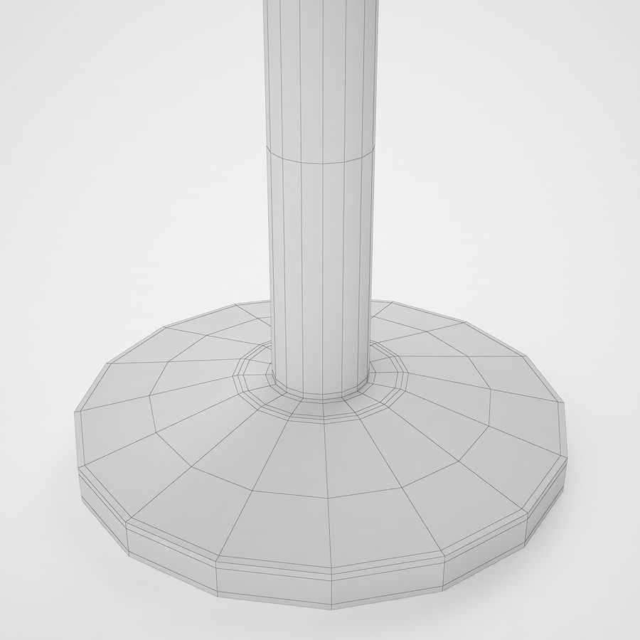 空港の支柱09 royalty-free 3d model - Preview no. 20