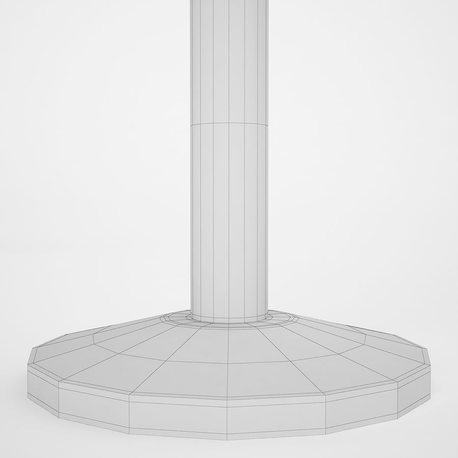 空港の支柱09 royalty-free 3d model - Preview no. 14