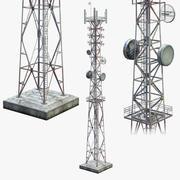 通信塔 3d model