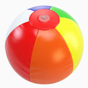Inflatable Beach Ball 3d model