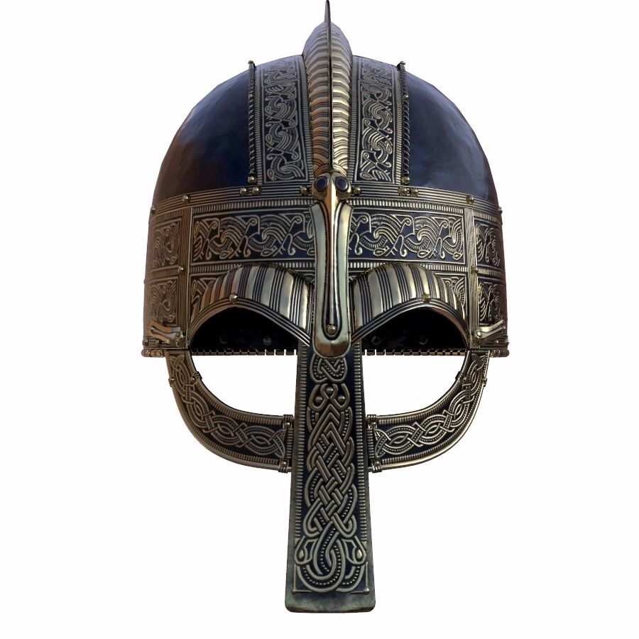 Vendel Helm royalty-free 3d model - Preview no. 2