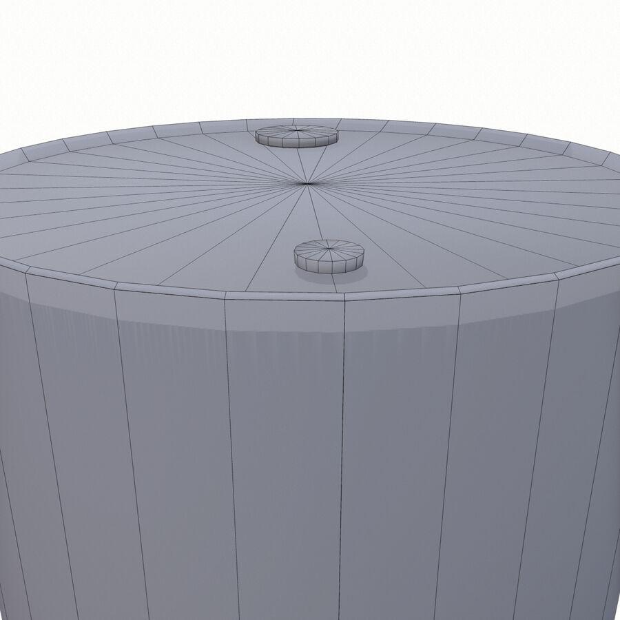生化危机桶02 royalty-free 3d model - Preview no. 32