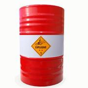 Explosive Barrel 04 3d model
