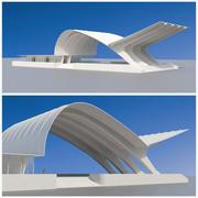 Arquitetura abstrata2 3d model