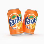 Fanta Can 3d model