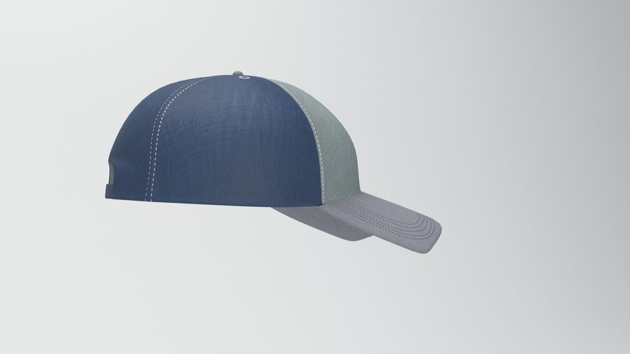 casquette de baseball royalty-free 3d model - Preview no. 2