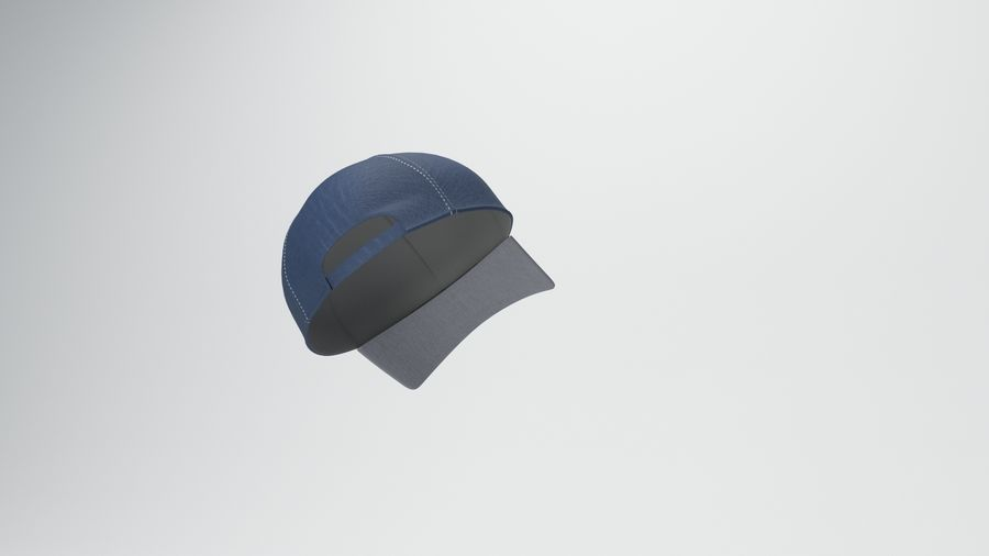 gorra de beisbol royalty-free modelo 3d - Preview no. 11