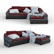 沙发角空间 3d model
