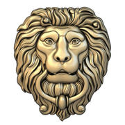 Maschera 004 Lion 3d model