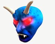 Testa di demone 3d model