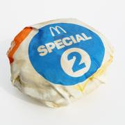 Mc Double Chili Cheeseburger emballé 3d model