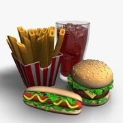 Быстрое питание 3d model