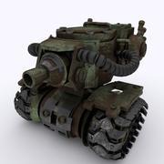 Model czołgu GT013 3D 3d model