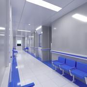 Sala kliniczna 3d model