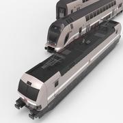 Metro Tube train subway car Bombardier TWINDEXX Bahn 3d model