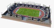 Футбольный стадион V2 3d model
