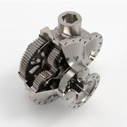 变速箱-涡轮 3d model