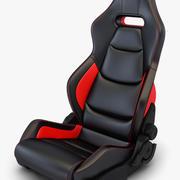 Car Racing Seat v 2 3d model