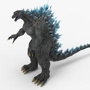 Godzilla 2019 Rei dos Monstros 3d model
