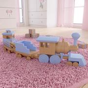 기차 3d model