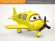 Cartoon Airplane Toy 3d model