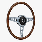 Volant rétro 3d model