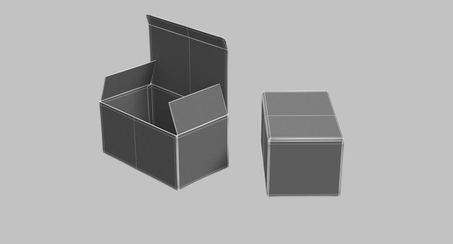 Boîtes en carton 01 royalty-free 3d model - Preview no. 19