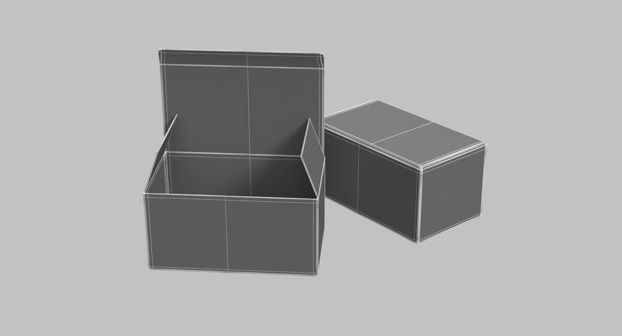 Boîtes en carton 01 royalty-free 3d model - Preview no. 13