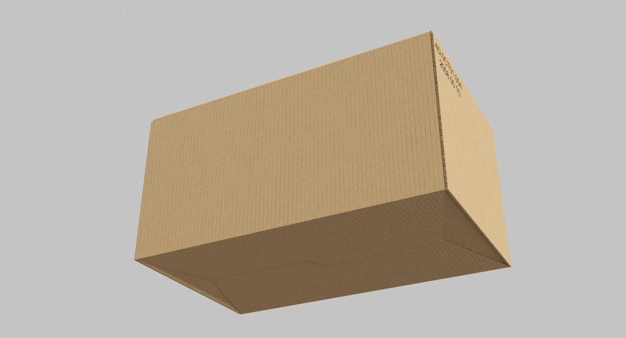 Boîtes en carton 01 royalty-free 3d model - Preview no. 9